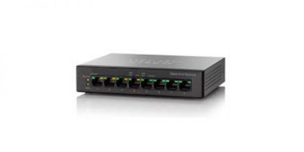 SG110D08HP 8 Port PoE Gigabit