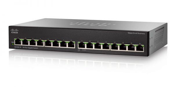 Cisco SG110-16-NA 16-Port Gigabit Switch