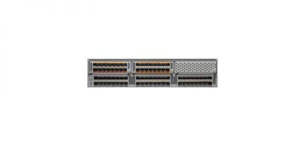 Cisco Nexus 5596T 2RU, 2PS/4Fans, 32x10GT/16xSFP+ Fixed Ports