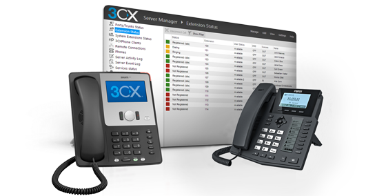 How to configure Grandstream GXP for 3CX - digitalworld-tech com