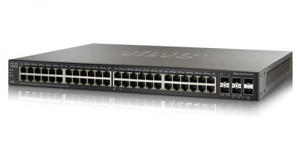 Cisco - SG550X-48-K9-NA 2 x 10 Gigabit Ethernet