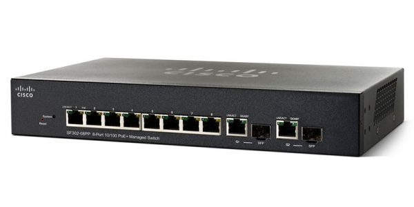 SF352-08MP 8-port 10/100 POE M