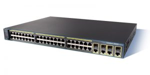 Cisco WS-C2960G-48TC-L Switch