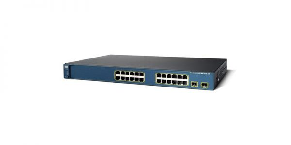 Cisco CATALYST 3560 WS-C3560G-24TS-S Managed Switch