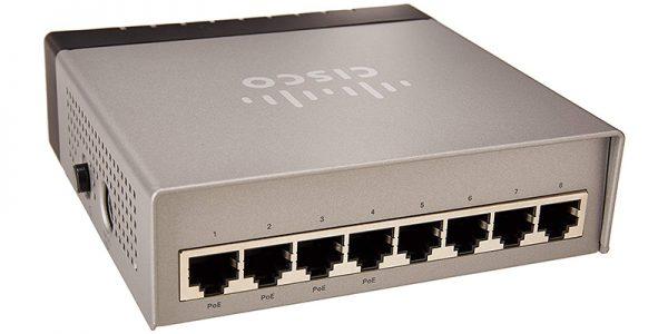 Cisco SG200-08P 8-port