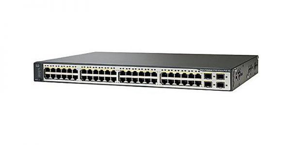 Cisco Catalyst 3750 v2 Series WS-C3750V2-24PS-S Switch