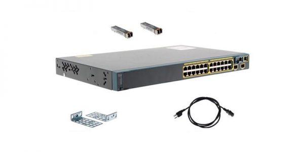 Cisco Switch WS-C2960S-24TD-L w