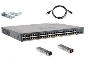 Cisco Switch WS-C2960X-48FPD-L w