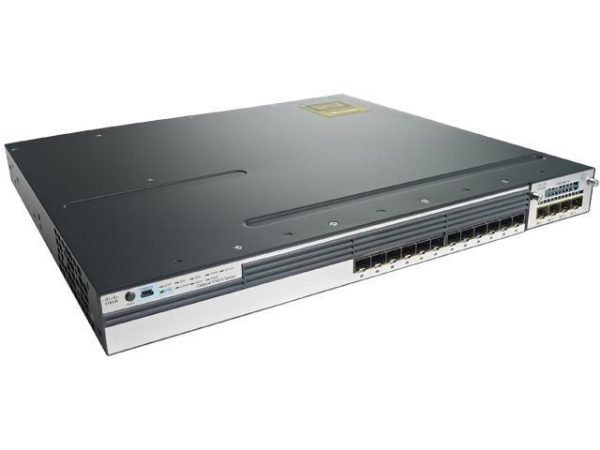 Cisco Catalyst 3750X-12S-S Layer 3 Switch - Manageable