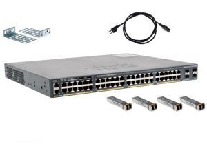 Cisco Switch WS-C2960X-48FPS-L w