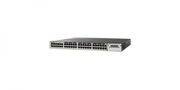 Cisco Catalyst WS-C3750X-48PF-L Stackable Ethernet Switch